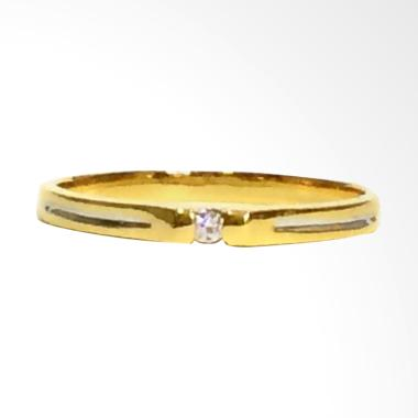 Pentacles FC02339 Wedding Ring White Gold With Diamond