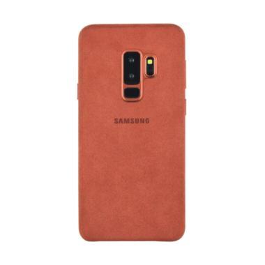 Preorder - Samsung Original Alcanta ...  for Galaxy S9 Plus - Red