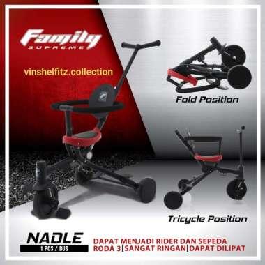 harga Sepeda Anak Roda Tiga Tricycle Family SUPREME NADLE Multicolor Blibli.com