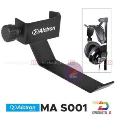 harga Terlaris ALCTRON MAS 001 Headphone Stand Hanger for MicrophoneMusical Diskon Blibli.com
