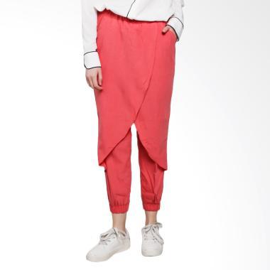 Celana Jogger Wanita - Red