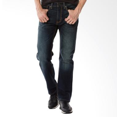 Levi's 505 Regular Fit Jeans Pria - Ama Sequoia Blue [00505-1552]
