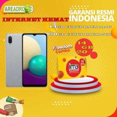 harga Samsung A02 [3/32 GB] Samsung Galaxy A02 3 GB 32 GB Bundle Indosat Garansi Resmi Bundle 14GB Blibli.com