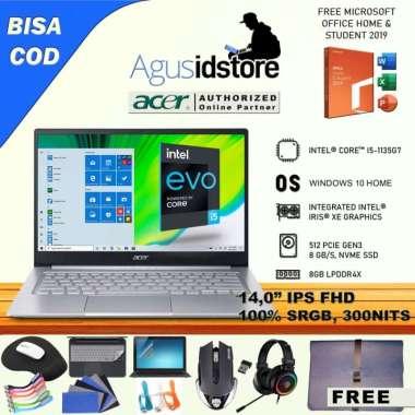 harga Laptop Acer Swift 3 Infinity 3 SF314 Core i5-1135G7 8GB 512GB SSD 100% sRGB 14