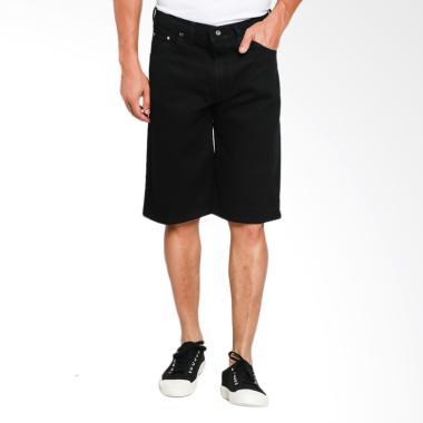 VM Pendek Celana Jeans Pria - Hitam