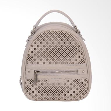 David Jones CM3775 Mini Backpack Wanita - Creamy Grey
