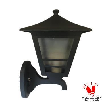 ATN LD 024 Minimalis Garis Lampu Dinding - Hitam