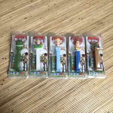 harga Pez Toy Story Woody Buzz Lightyear Bo Peep Slinky Candy Dispenser - Woody (Kode 009)) Blibli.com