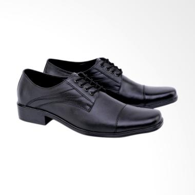 Syaqinah Sepatu Formal Pria - Hitam [052]