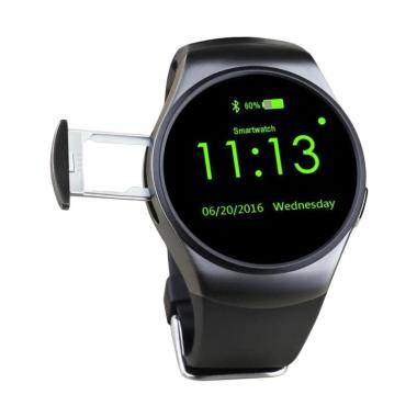 KingWear KW18 Bluetooth Smartwatch for iOS or Android - Hitam