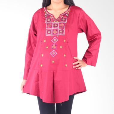 HMILL 1593 Baju Blouse Ibu Hamil - Merah