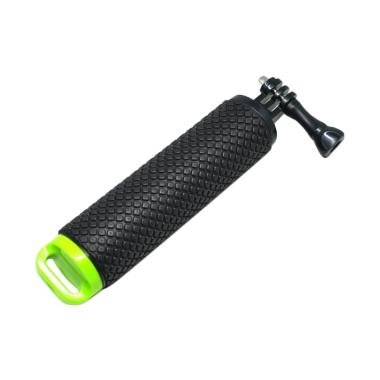 Pov Dive Buoy Floating Monopod for  ... omi Yi 2 4k - Black/Green