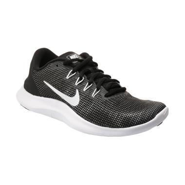 NIKE Women Running Flex 2018 Sepatu Lari Wanita - Black [AA7408-001]