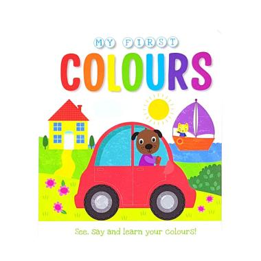 harga Autumn Publishing Genius Baby My First Colours : See, say, and Learn your Colours Buku Anak Blibli.com