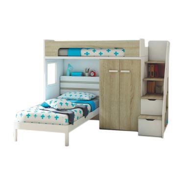 Atria Thorin Kids Loft Bed Set Tempat Tidur Anak