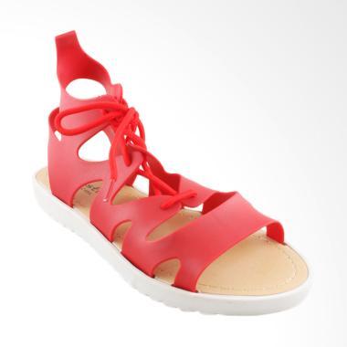 Austin Flats Sherice Sepatu Sandal Wanita - Red