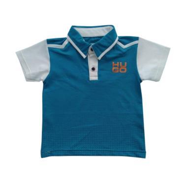 GLOWFish WK640 Kaos Polo Shirt Anak Laki-Laki - Biru [0-5 Tahun]