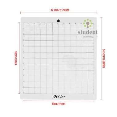 harga 3 Pcs Alas Potong Pengganti Dengan Perekat Transparan Ukuran 12x12 Inch Untuk Siluet Cameo Plotter Machine Blibli.com