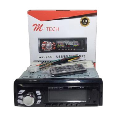 M-Tech MT100 Tape USB Player MP3 Head Unit Mobil