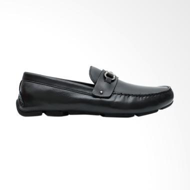 Gino Mariani Edgardo Exclusive Cow Leather Formal Men's Shoes - Black