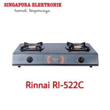 Kompor Gas Rinnai RI-522C / Rinnai RI522C 2 Tungku