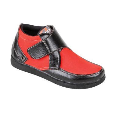 Zeintin ZSAL18 Sepatu Anak Laki - Merah