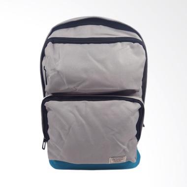 Kappa Backpack Tas Ransel Pria - Grey [KE4BP952]