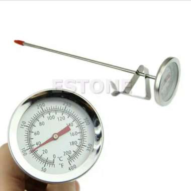 harga Dijual Termometer Masak 200° Celcius Thermometer ukur suhu Minyak Air Daging Diskon Blibli.com