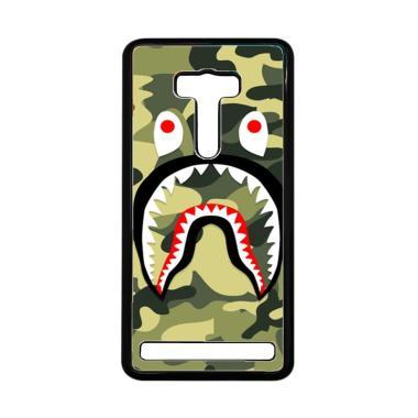 Acc Hp Bape Shark Camo J0113 Custom ...  Zenfone 2 Laser 5.5 Inch