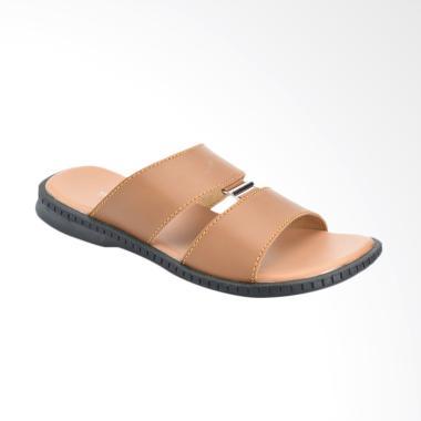 Yongki Komaladi Sandal Pria - Camel [JB4-62-3]