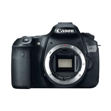 harga Canon EOS 60D DSLR Camera [Body Only] Black Blibli.com