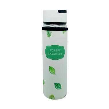 Aldora Korean Style with Sarung Teb ... Kaca Botol Minum [500 mL]