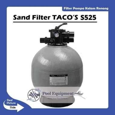 harga SAND FILTER TACOs S525 KOLAM RENANG silver Blibli.com