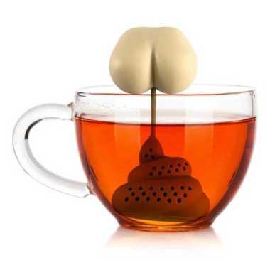 harga VRS BalmyDays Saringan Teh Tea Filter Infuser Filter Strainer Poop - K523 Transparan Blibli.com