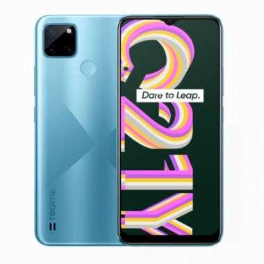 harga Realme C21Y 3/32GB Smartphone Garansi Resmi cross blue Blibli.com