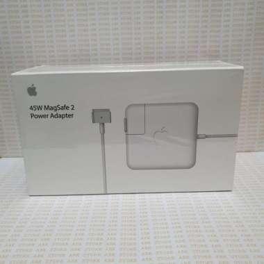 harga Charger Macbook Magsafe 2 45W Adapter Apple Mac book Pro & Air ORI Putih Blibli.com