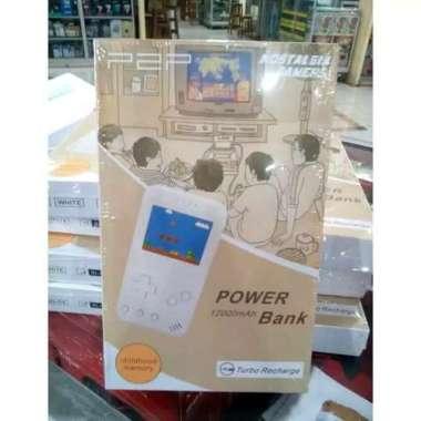 POWERBANK POWER BANK P2P 12000MAH RETRO GAME
