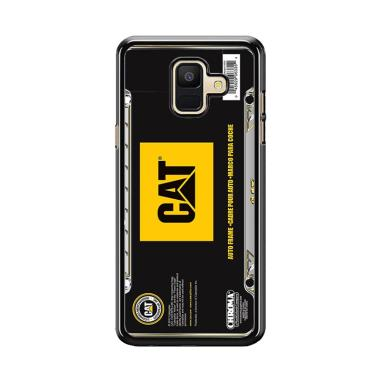 Acc Hp Caterpillar Tractor Carbon W5345 Custom Casing for Samsung A6