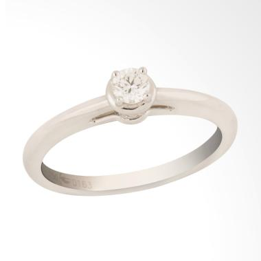 Posh Jewellery GW00788-020 Ladies Ring Solitaire Cincin