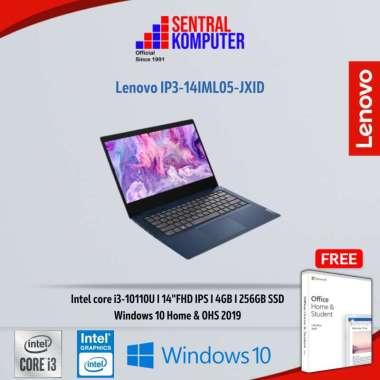 harga Lenovo IP3-14IML05-JXID-i3-10110U-4GB-256GB-Win10 & OHS 19 Blibli.com