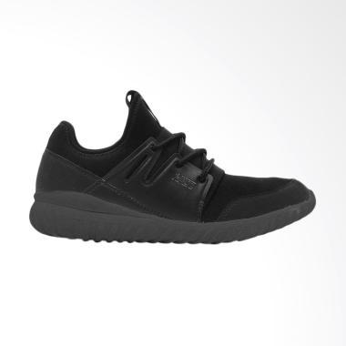 HRCN Outfitters Booster Sepatu Sneaker Pria - Black [H 5650]