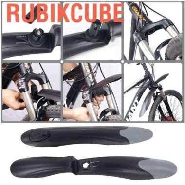 harga Rubikcube 1 Pasang Pelindung Roda Depan - Belakang Sepeda Gunung Blibli.com