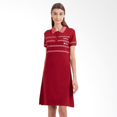 Ryusei Polo Drs Sachi Mini Dress - Maroon