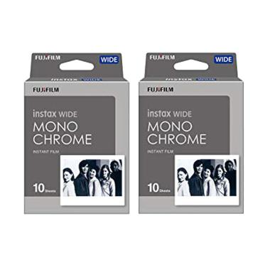 Fujifilm Instax Wide Monochrome Ins ... ingle/ 2 Pack/ 10 Lembar]