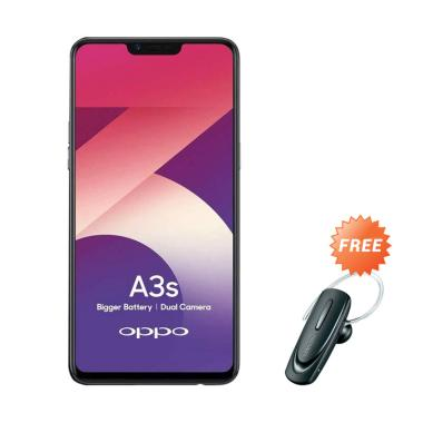 OPPO A3S Smartphone [16GB/ 2GB] + Free Headset Bluetooth