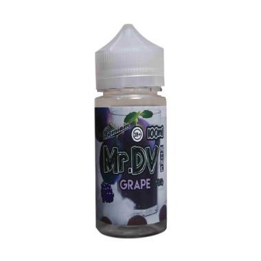 Mr. DV9 Grape Mint Liquid Vape [Non Nicotine/100 mL]