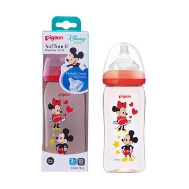 Pigeon Disney Mickey & Minnie PPSU Botol Susu [240 mL]