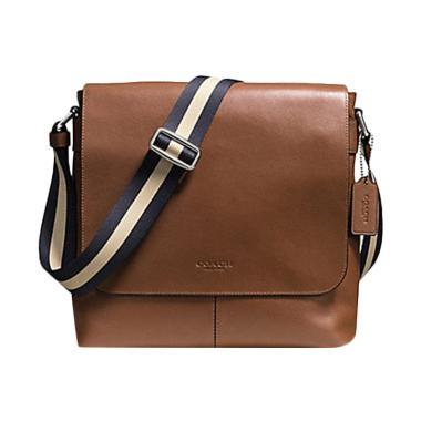 ... official store coach charles messenger crossbody bag saddle tas  selempang pria tan 32032 c537a beb772fc30