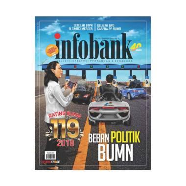 harga Infobank Edisi September 2018 Majalah Bisnis Blibli.com