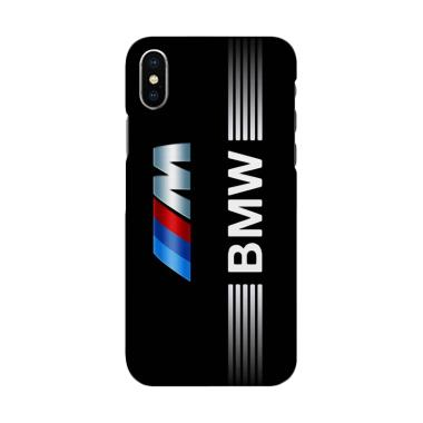 harga Indocustomcase BMW Logo Stripes 3 Cover Hardcase Casing for iPhone X Blibli.com